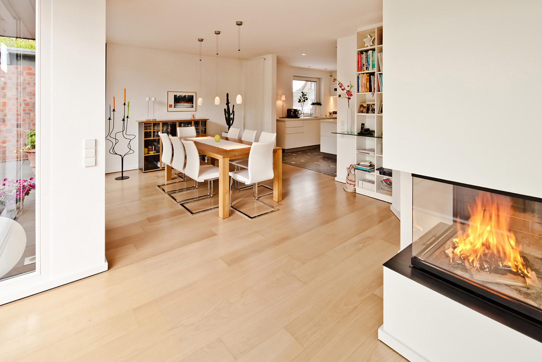 moderne helle k che mit kochinsel tischlerei sch pker. Black Bedroom Furniture Sets. Home Design Ideas