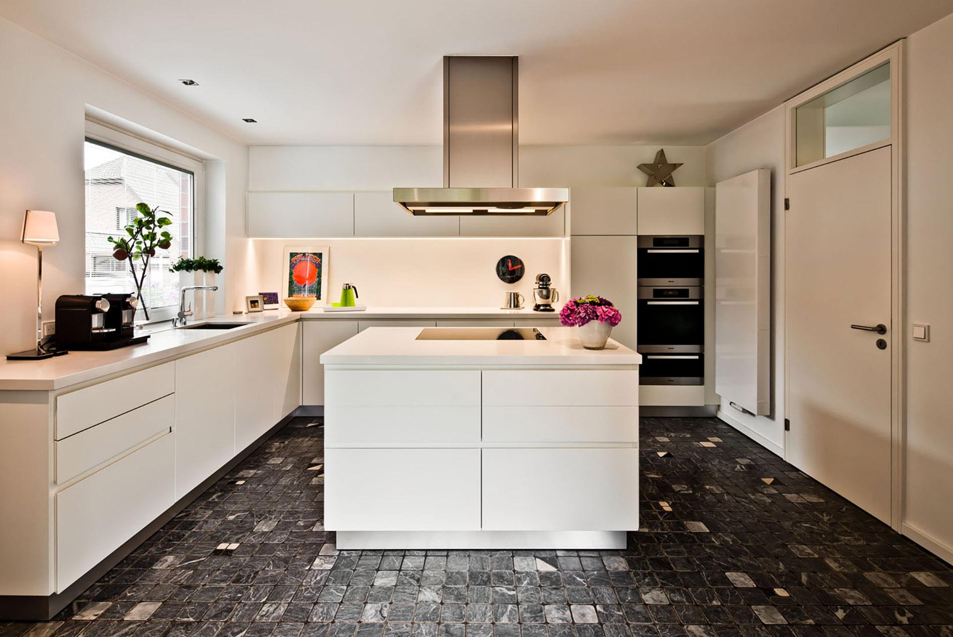 Moderne Kuchen Mit Kochinsel Bilder – Caseconrad.com