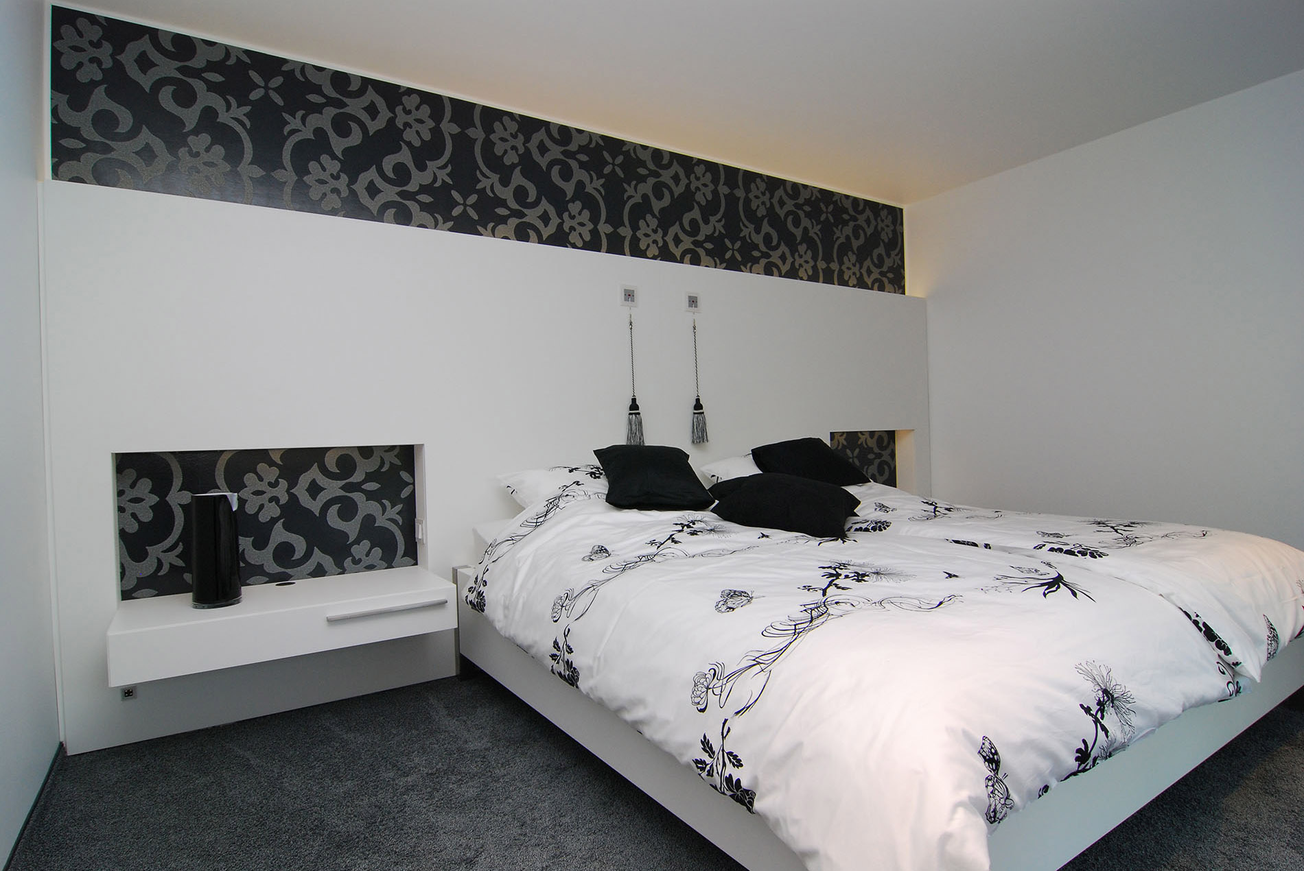 Schlafzimmer mit schrankwand sch pker holz wohn form gmbh - Schrankwand schlafzimmer ...