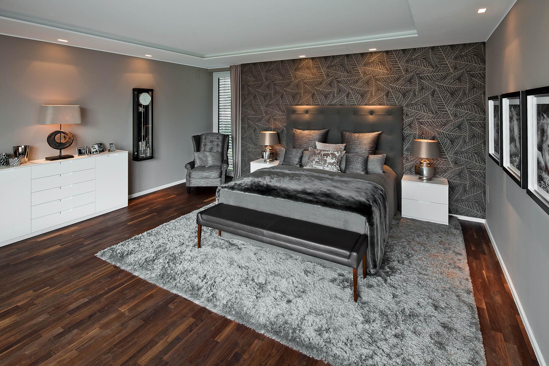 schlafzimmer mit ankleidebereich tischlerei sch pker. Black Bedroom Furniture Sets. Home Design Ideas