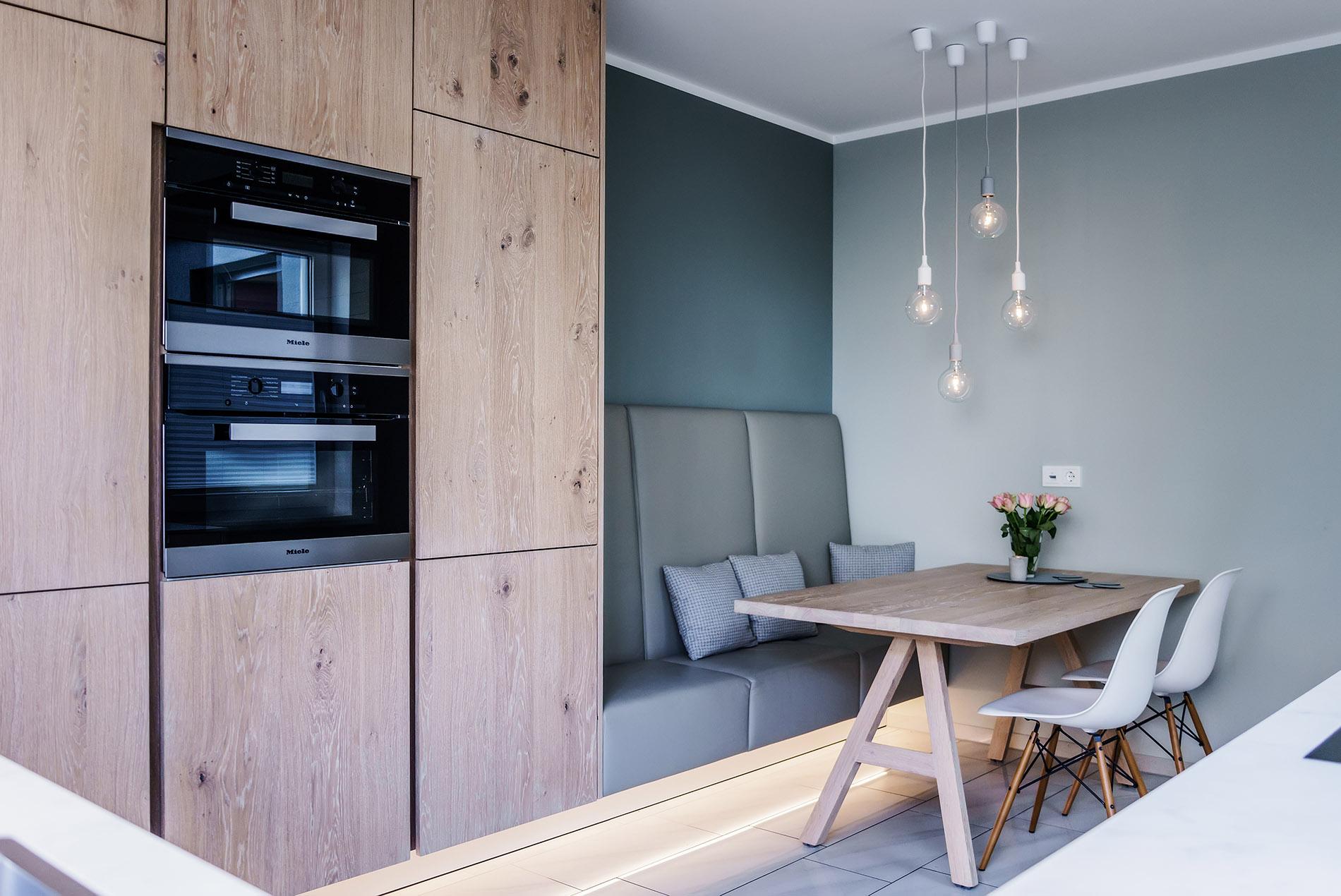 moderne k che im skandinavischen look tischlerei sch pker. Black Bedroom Furniture Sets. Home Design Ideas