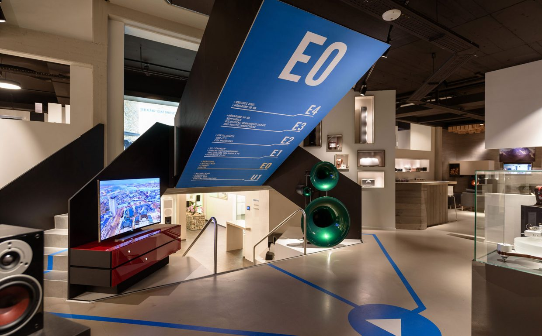 Ausstellung Tischlerei Schöpker Kooperationspartner Audio Video Hamm