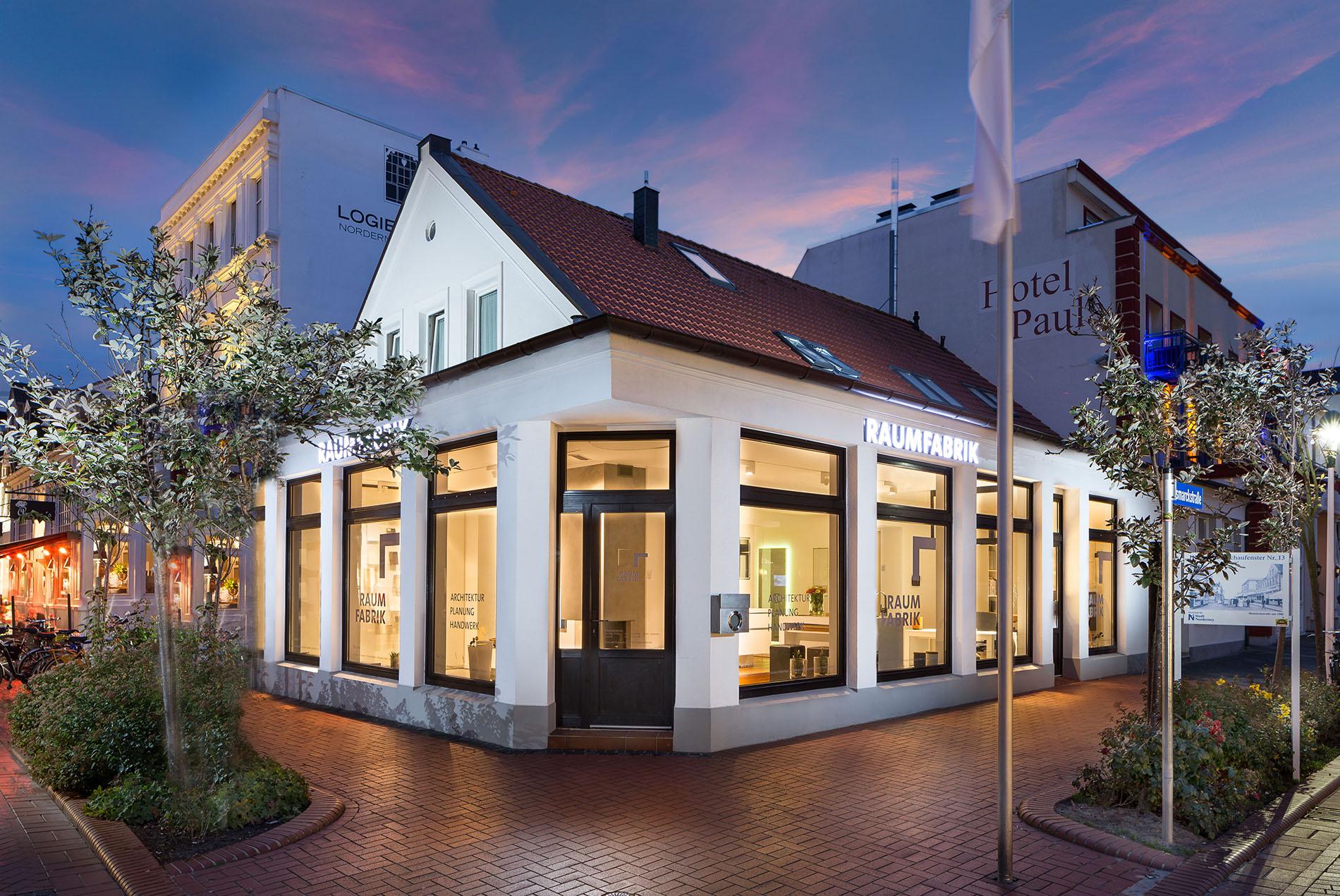 Ausstellung Raumfabrik Norderney Tischlerei Schöpker
